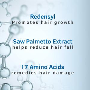 Redensyl, Saw Palmetto Extract, 17 Amino Acids