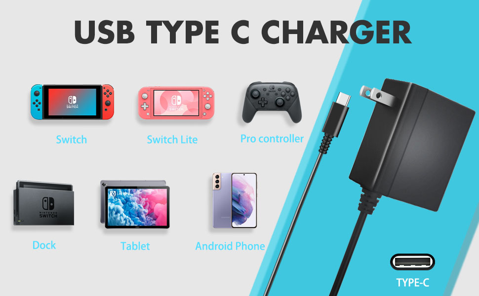 nintendo switch lite charger