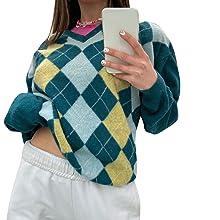 womens y2k fashion sweater