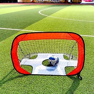 Used as a football goal