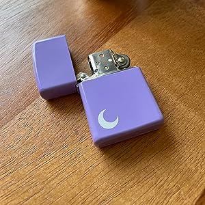 purple lighter