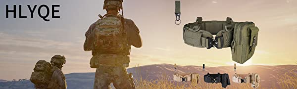 Tactical Battle Belt