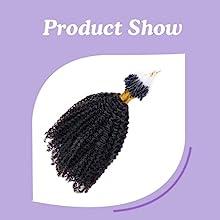 Micro loop hair extensions show