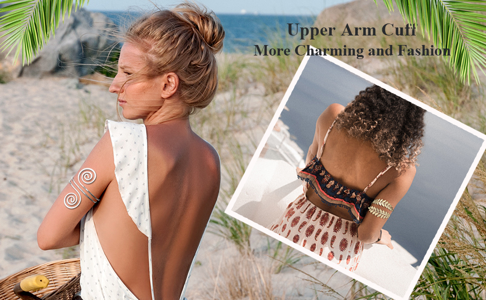 Armlet Arm cuff bangle bracelet for wedding