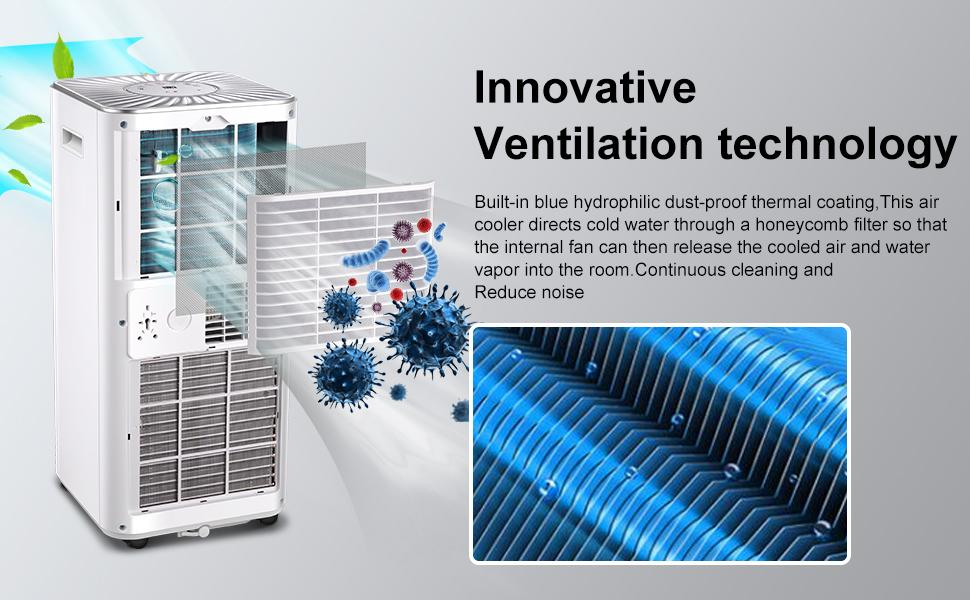 ventilation technology air conditioner