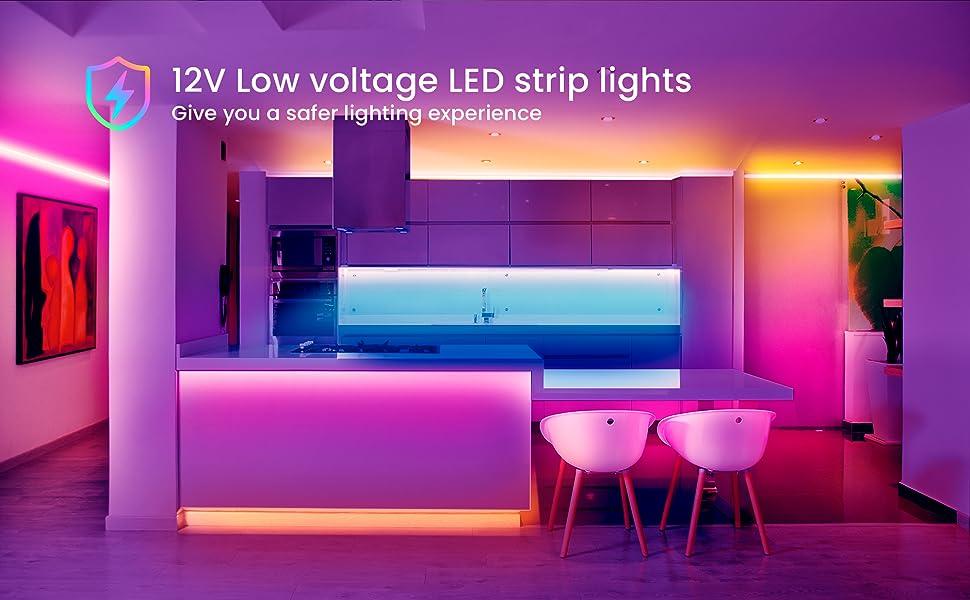 Bluetooth LED Strip Lights for bedroom