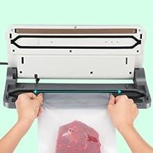 Machine de mise sous vide alimentaire automatique