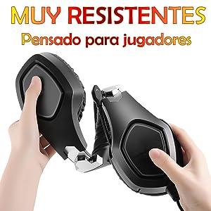 auricular gaming ps4, auricular gaming para ps5, auricular gaming para pc