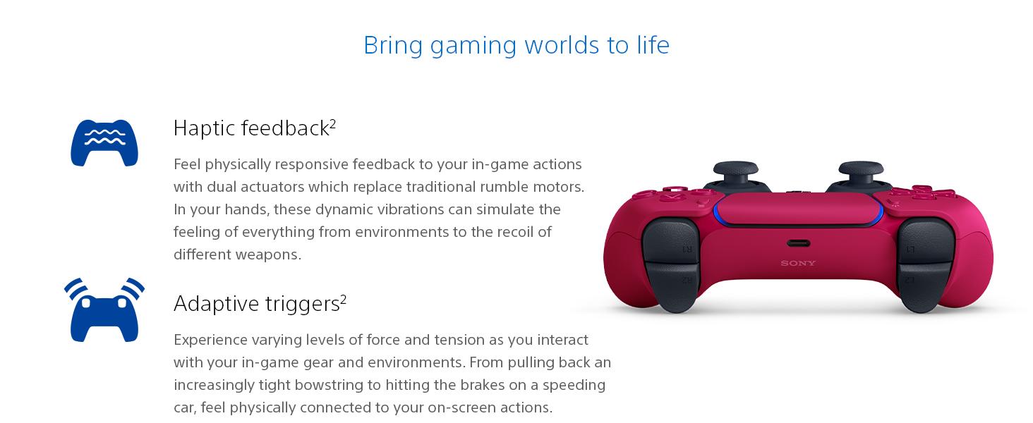 Bring gaming worlds to life