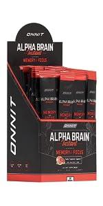 Onnit Alpha Brain Instant - Ruby Grapefruit