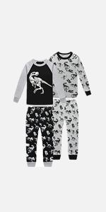 Dinosaur pajamas boys