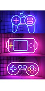 game neon sign