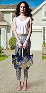 JANSBEN Handtasche Damen