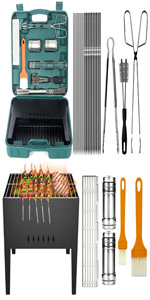 foldable barbecue grill camping