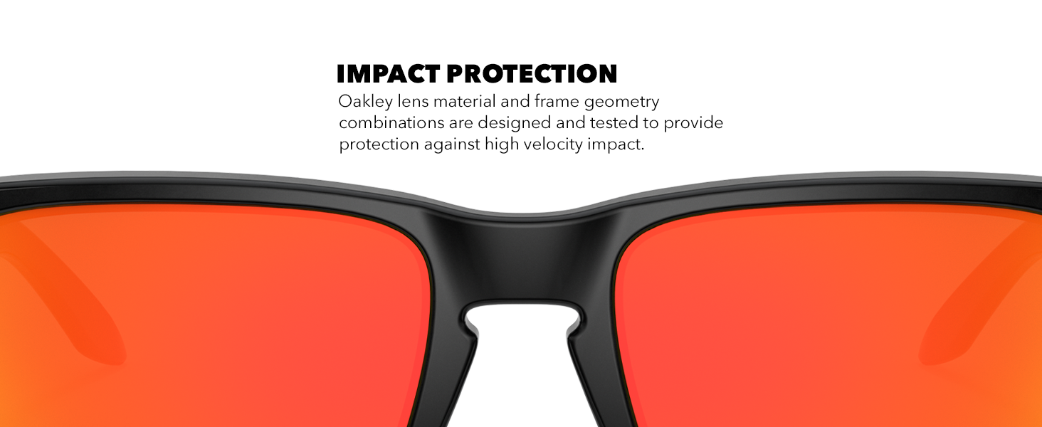 Oakley Holbrook Impact Protection