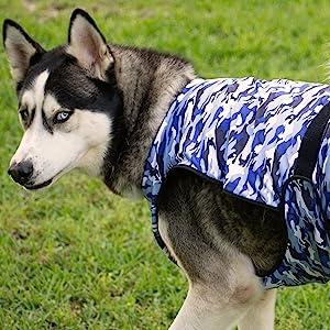 Blue Camouflage Cooling Vest