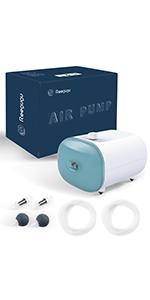 Aquarium Air Pump with Adjustable Output