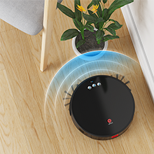 The Robotic Vacuum has upgraded 6D built-in anti-collision, easily avoid furniture