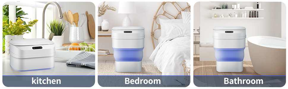 small garbage can with lid bathroom garbage can with a lid motion sensor trash can slim garbage can