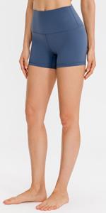 lavento womens biker shorts 3 inch