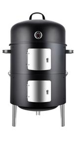 Realcook 17 Inch Smoker Grill