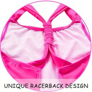 Unique racerback design