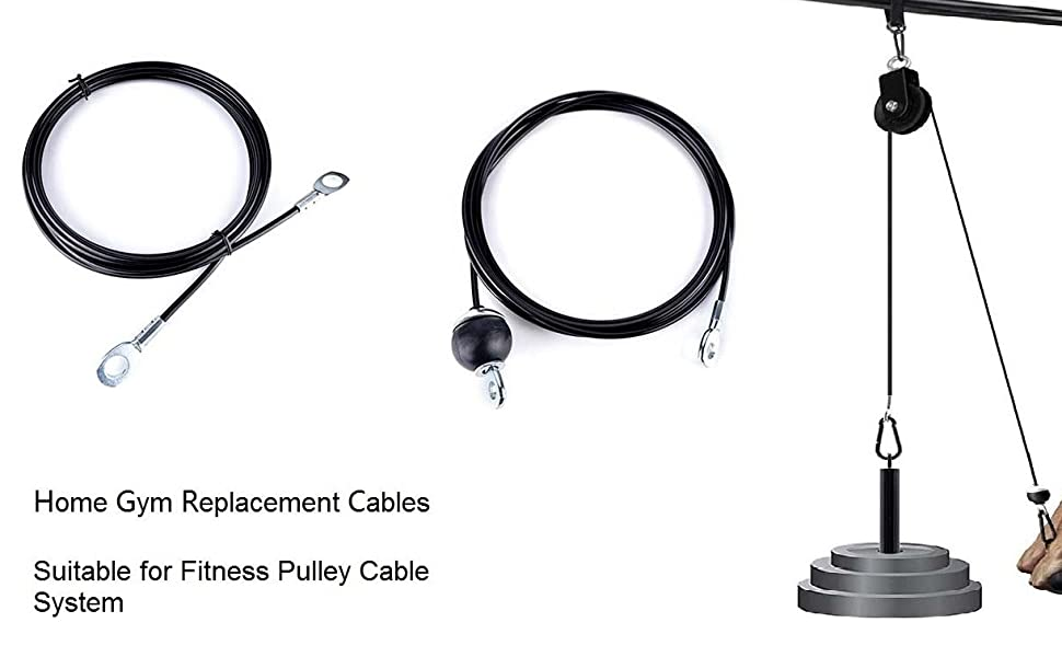 exercise pulley cable