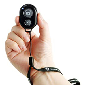 CONVENIENT AND EASY HANDS FREE SHUTTER CONTROL FOR MOBILE DEVICES