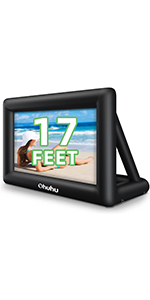 Inflatable Projector Screen for Outside