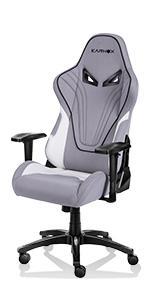 gaming chair grey