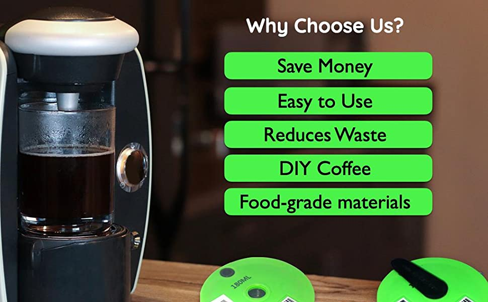 My-Cap Reusable Disc for Tassimo Brewers - Why Choose Us