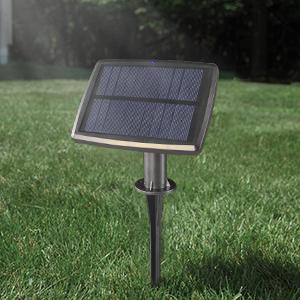 Solar panel string lights