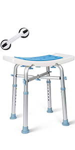 oasisspace heavy duty shower chair 500lb shower seat heavy duty bathtub stool