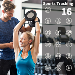 Sports Tracking Cattle Herder Activity Tracker Watch 16 sports tracking