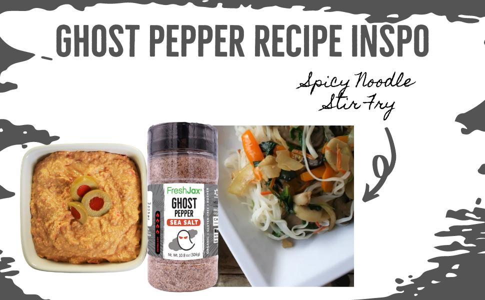 FreshJax Ghost Pepper Recipe Inspo