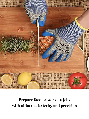 Prepare food or work on jobs with ultimate dexterity and precision