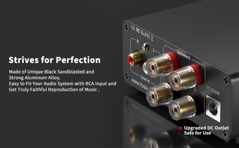 Mini Power Amplifier Fosi Audio V1.0B