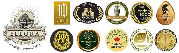 Awards, ellora, New York, Global