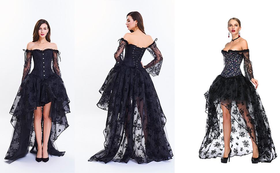 1708 Corset dress