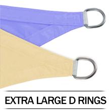 Extra Large D Ringds