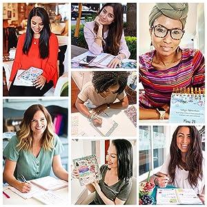 2021 Bloom Girl Collage Diverse Women