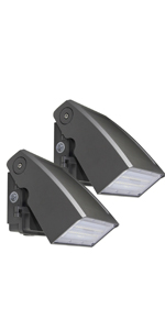 LED wall pack with photocell 30W 2 Pack