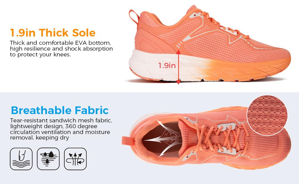 Wantdo Women's Breathable Running shoes