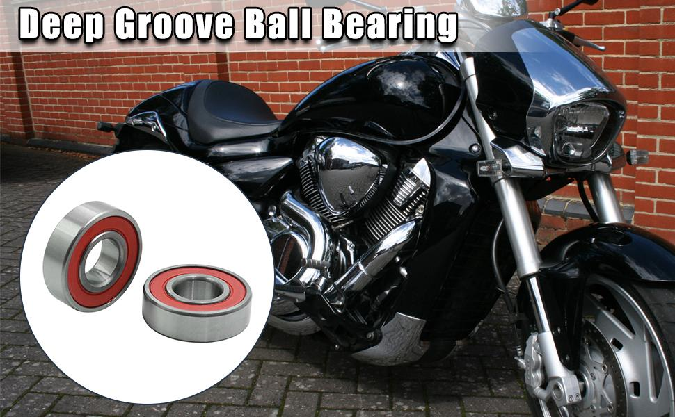 6003RS Deep Groove Sealed Shielded Ball Bearing Universal 35 x 17 x 10mm 2pcs
