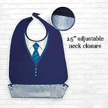 Classy Pal Tie Neck Closure