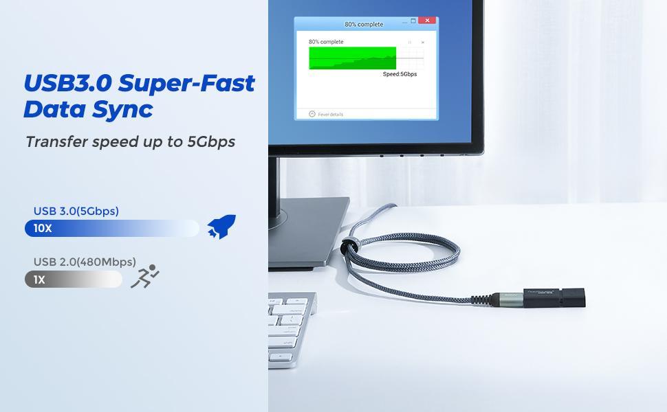USB 3.0 Super Fast Data Sync