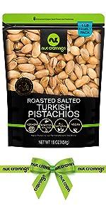Roasted Salted Turkish Pistachios
