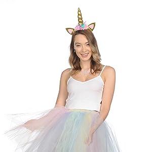 unicorn hair accessories for girls unicorn costume for toddler girl unicorn horn for horse to wear