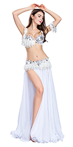 White Belly Dance Costumes