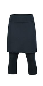 skirted leggings scapris skirted leggings with skorts tennis clothing workout leggings
